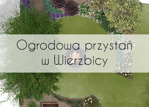 Ogrodowa przystań w Wierzbicy