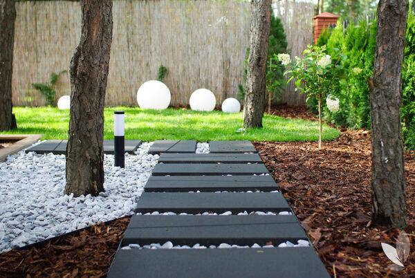 Ogród Leśny styl