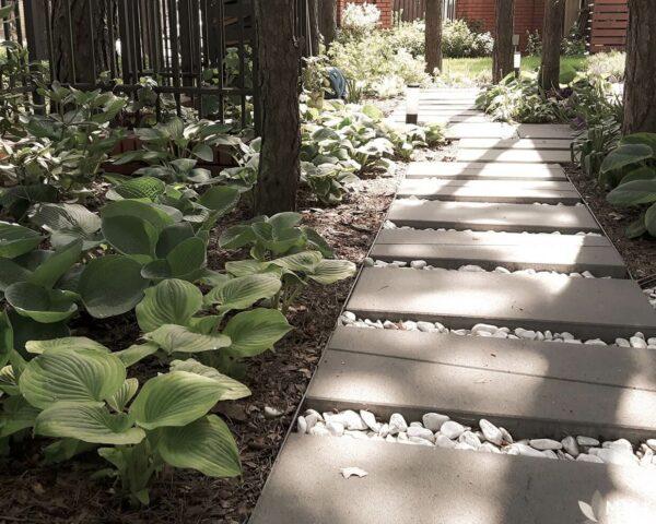 Realizacja ogrody, ogród leśny, mm.krajobrazy