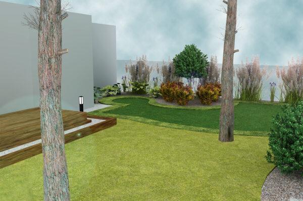 Putting Green projekt 3D